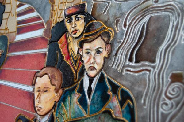 Каменная Картина Дорога в вечность № 02 (Сутин), изображение, фото 13