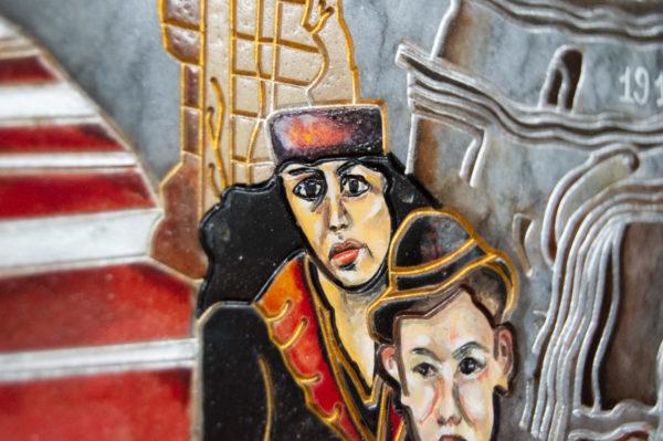 Каменная Картина Дорога в вечность № 02 (Сутин), изображение, фото 14