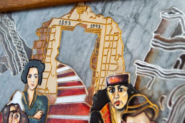 Каменная Картина Дорога в вечность № 02 (Сутин), изображение, фото 15