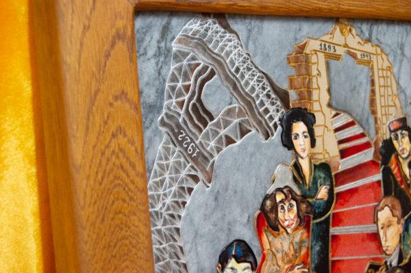 Каменная Картина Дорога в вечность № 02 (Сутин), изображение, фото 16