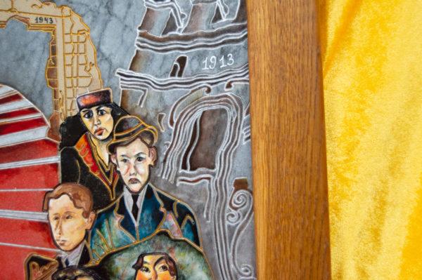 Каменная Картина Дорога в вечность № 02 (Сутин), изображение, фото 17