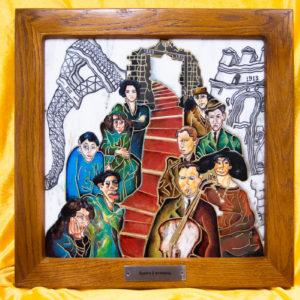 Каменная Картина Дорога в вечность № 01 (Сутин), изображение, фото 1