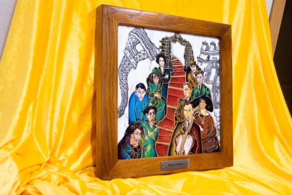 Каменная Картина Дорога в вечность № 01 (Сутин), изображение, фото 2