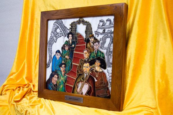 Каменная Картина Дорога в вечность № 01 (Сутин), изображение, фото 3