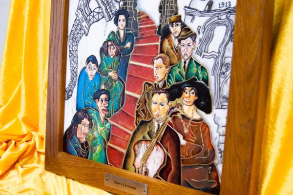 Каменная Картина Дорога в вечность № 01 (Сутин), изображение, фото 5