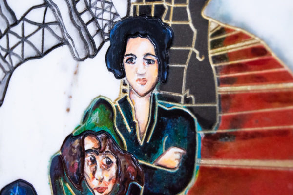 Каменная Картина Дорога в вечность № 01 (Сутин), изображение, фото 6
