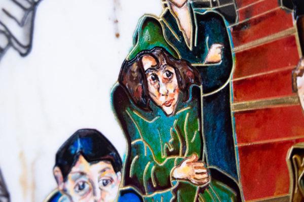 Каменная Картина Дорога в вечность № 01 (Сутин), изображение, фото 7