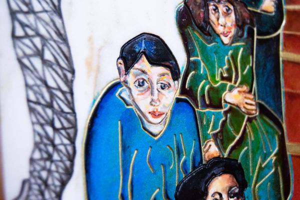 Каменная Картина Дорога в вечность № 01 (Сутин), изображение, фото 8