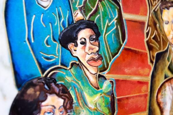Каменная Картина Дорога в вечность № 01 (Сутин), изображение, фото 9