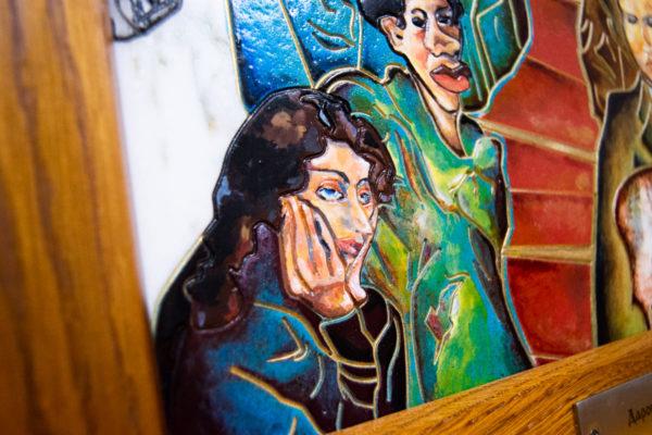 Каменная Картина Дорога в вечность № 01 (Сутин), изображение, фото 10