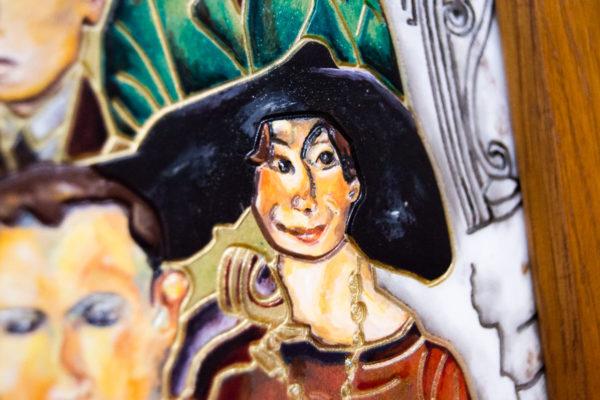 Каменная Картина Дорога в вечность № 01 (Сутин), изображение, фото 12