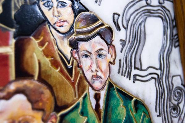Каменная Картина Дорога в вечность № 01 (Сутин), изображение, фото 14