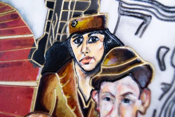 Каменная Картина Дорога в вечность № 01 (Сутин), изображение, фото 15