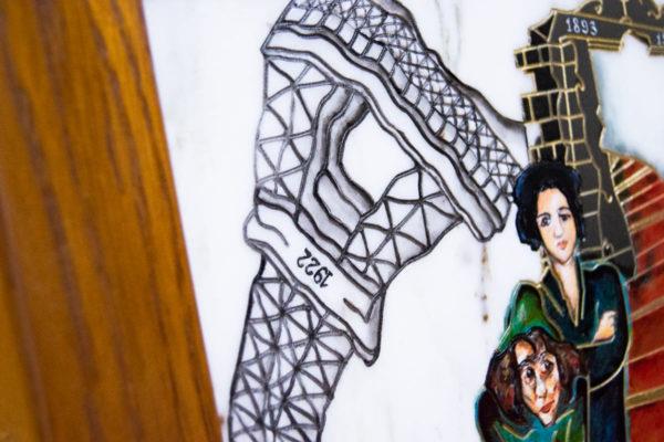 Каменная Картина Дорога в вечность № 01 (Сутин), изображение, фото 17