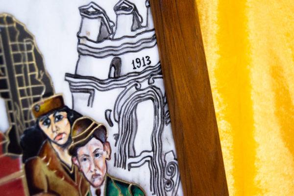 Каменная Картина Дорога в вечность № 01 (Сутин), изображение, фото 18