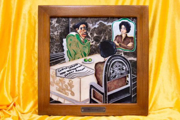 Каменная Картина Ева и ее автор № 05 (Сутин), изображение, фото 1