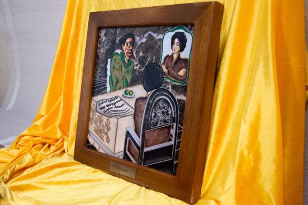Каменная Картина Ева и ее автор № 05 (Сутин), изображение, фото 2