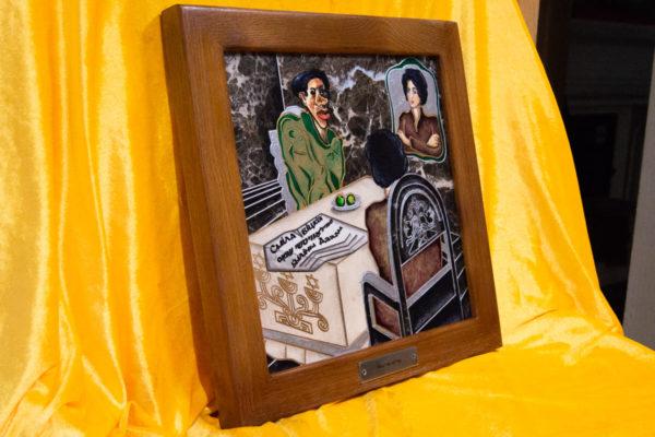 Каменная Картина Ева и ее автор № 05 (Сутин), изображение, фото 3