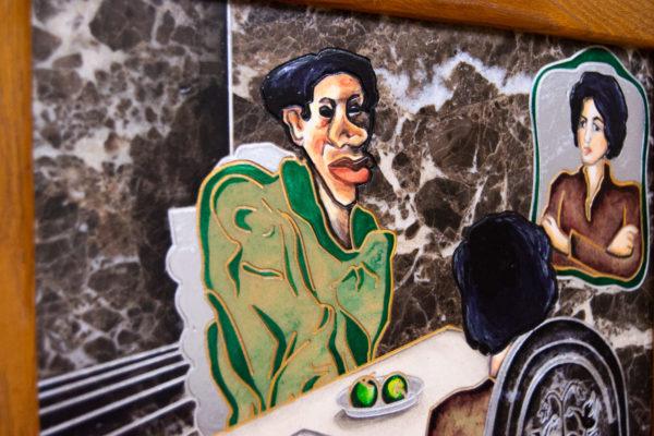 Каменная Картина Ева и ее автор № 05 (Сутин), изображение, фото 11