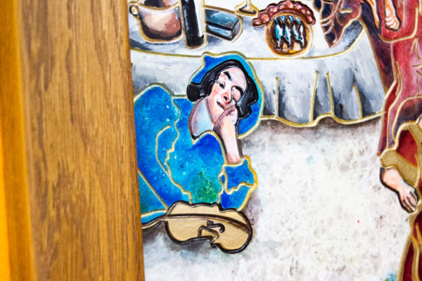 Каменная Картина Завтрак на Волме № 01 (Сутин), изображение, фото 6