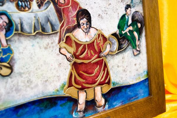 Каменная Картина Завтрак на Волме № 01 (Сутин), изображение, фото 7