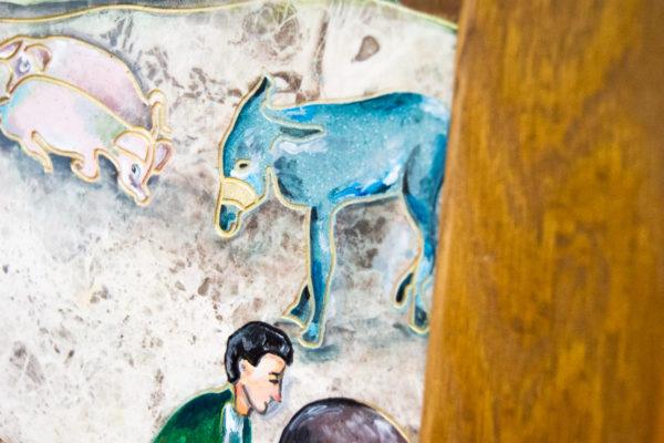 Каменная Картина Завтрак на Волме № 01 (Сутин), изображение, фото 9
