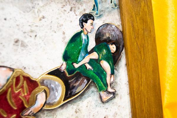 Каменная Картина Завтрак на Волме № 01 (Сутин), изображение, фото 10