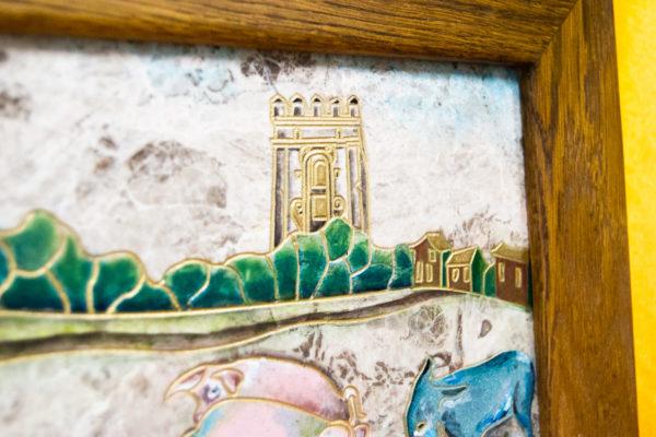 Каменная Картина Завтрак на Волме № 01 (Сутин), изображение, фото 14