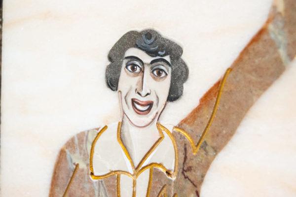Каменная Картина Оммаж духовному дому отца Шагала № 08, изображение, фото 7