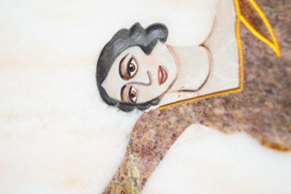 Каменная Картина Оммаж духовному дому отца Шагала № 08, изображение, фото 8