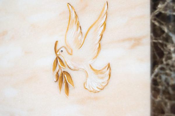 Каменная Картина Оммаж духовному дому отца Шагала № 08, изображение, фото 16