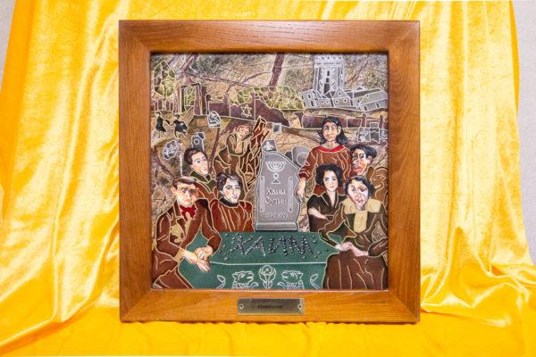 Каменная Картина Поминовение № 01 (Сутин), изображение, фото 1