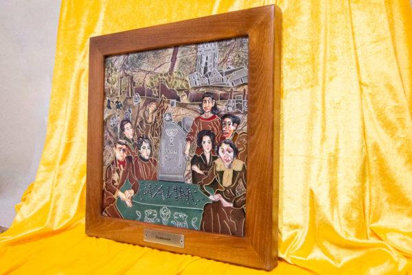 Каменная Картина Поминовение № 01 (Сутин), изображение, фото 2