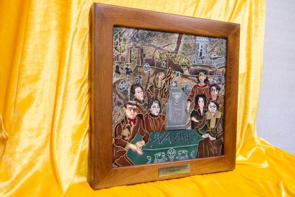Каменная Картина Поминовение № 01 (Сутин), изображение, фото 3