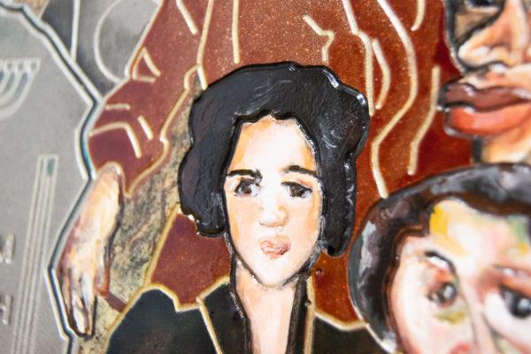 Каменная Картина Поминовение № 01 (Сутин), изображение, фото 10