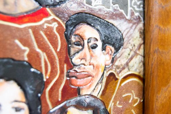 Каменная Картина Поминовение № 01 (Сутин), изображение, фото 12