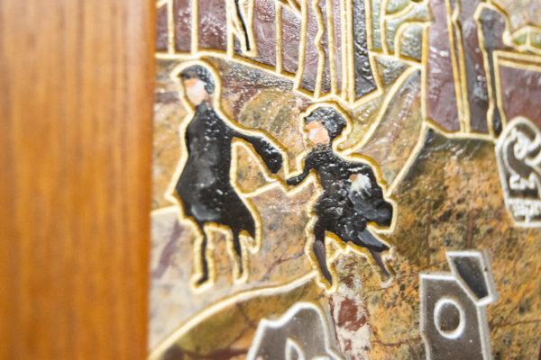 Каменная Картина Поминовение № 01 (Сутин), изображение, фото 14