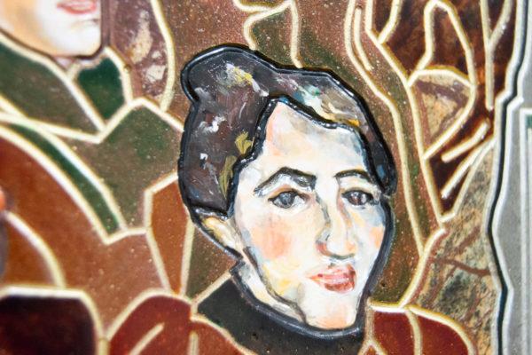 Каменная Картина Поминовение № 01 (Сутин), изображение, фото 16