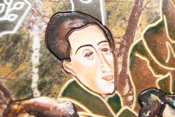 Каменная Картина Поминовение № 01 (Сутин), изображение, фото 17