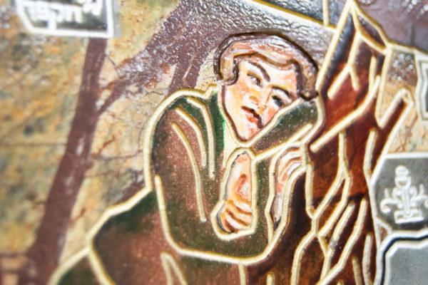 Каменная Картина Поминовение № 01 (Сутин), изображение, фото 18