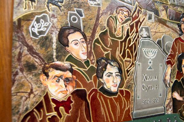 Каменная Картина Поминовение № 01 (Сутин), изображение, фото 19