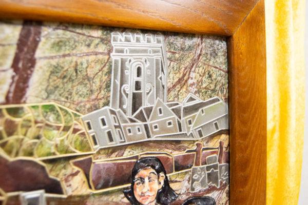 Каменная Картина Поминовение № 01 (Сутин), изображение, фото 20