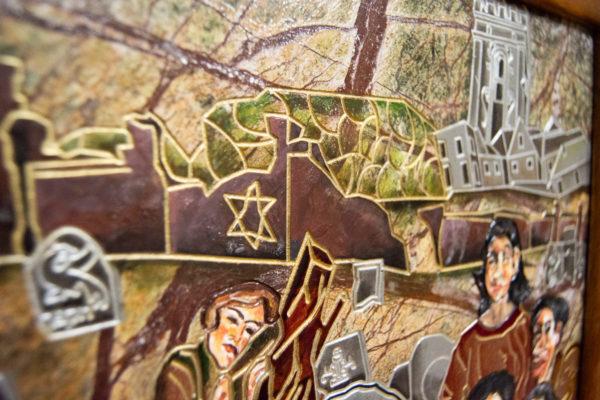 Каменная Картина Поминовение № 01 (Сутин), изображение, фото 21