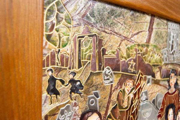 Каменная Картина Поминовение № 01 (Сутин), изображение, фото 22