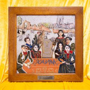 Каменная Картина Поминовение № 02 (Сутин), изображение, фото 1