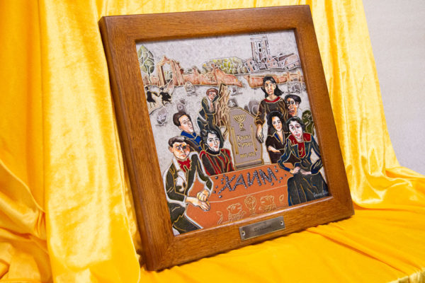 Каменная Картина Поминовение № 02 (Сутин), изображение, фото 2