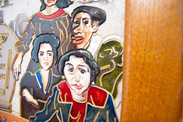 Каменная Картина Поминовение № 02 (Сутин), изображение, фото 6