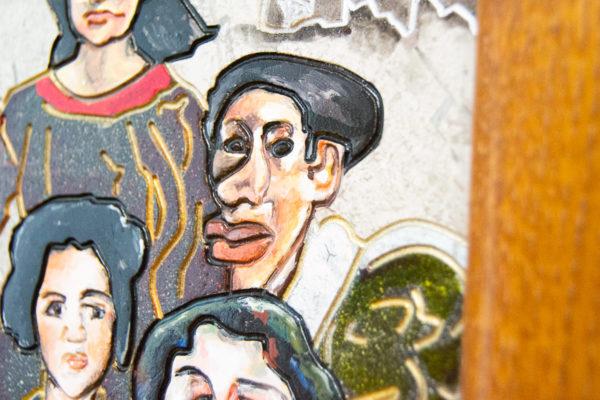 Каменная Картина Поминовение № 02 (Сутин), изображение, фото 11