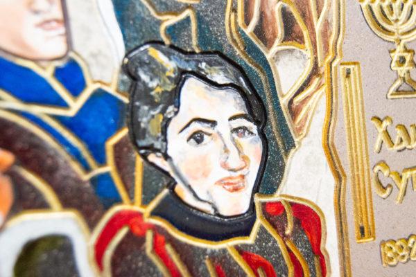 Каменная Картина Поминовение № 02 (Сутин), изображение, фото 13