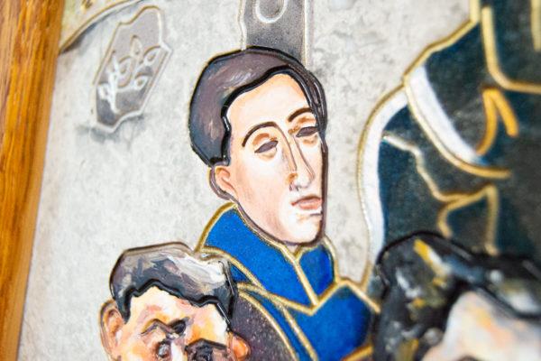 Каменная Картина Поминовение № 02 (Сутин), изображение, фото 15